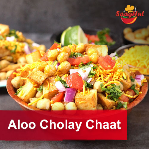 Aloo Cholay Chaat