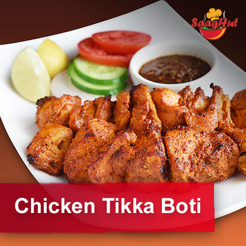 Chicken Tikka Boti (8pcs.)