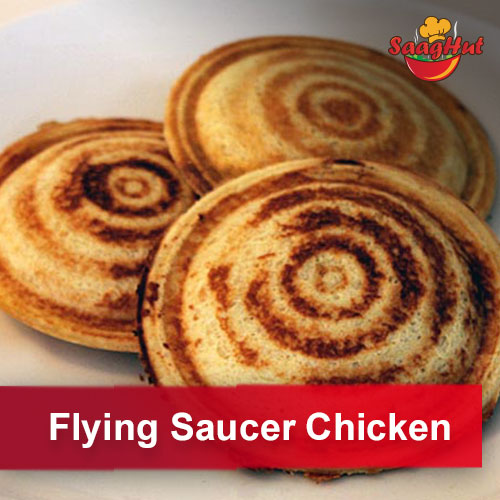 Flying Saucer Chicken