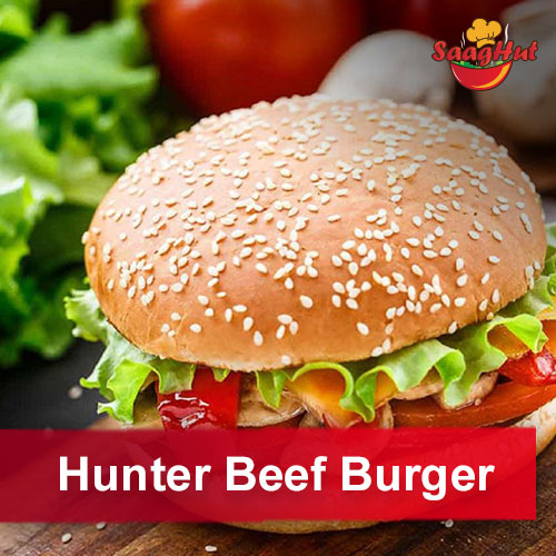 Hunter Beef Burger