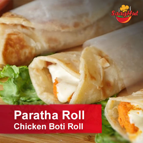 Paratha Roll Chicken Boti Roll