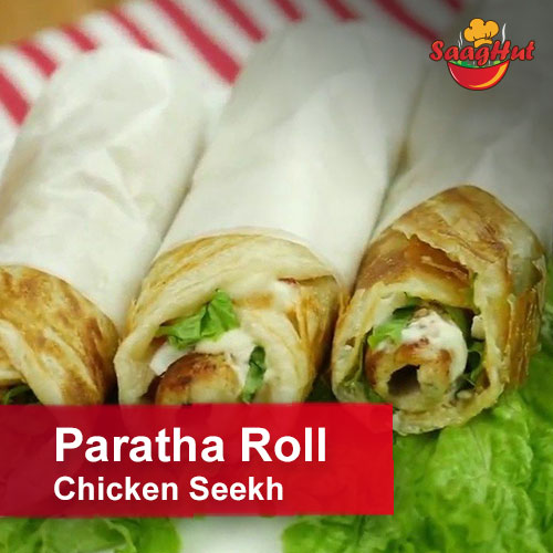 Paratha Roll Chicken Seekh